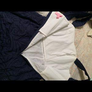 Lilly Pulitzer Dresses - Lilly Pulitzer Navy Ruffle Sarafina Dress